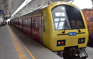 KTM Komuter trains from Padang Besar to Butterworth