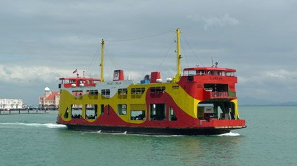 The ferry from Butterworth to Penang