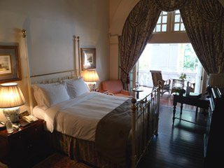 A Grand Suite in the main building at Raffles Hotel