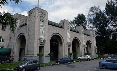 Singapore's colonial railway station, built in 1932