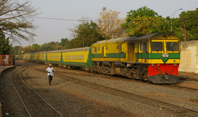 The Bamako to Kayes train