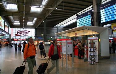 慕尼黑中央火车站大厅
