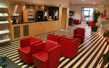 Munich Hbf DB Lounge