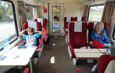 Best train options between prague and munich