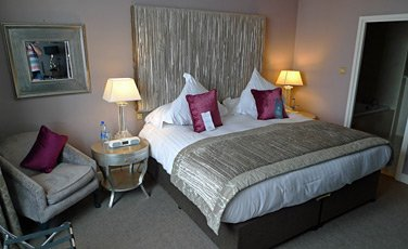 Suite at the Europa Hotel, Belfast
