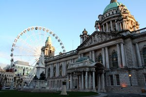 Belfast City Hall and wheel