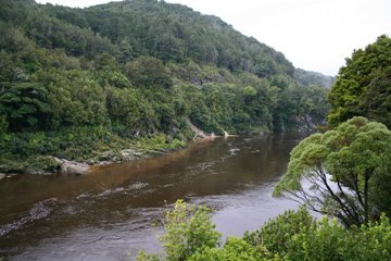 River approaching Greymouth
