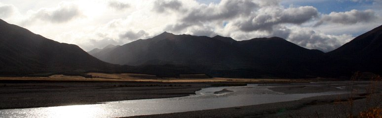 Typical scenery seen from the Tranz Alpine train, arguably New Zealand's most scenic train ride...
