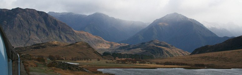 More scenery from the TranzAlpine train