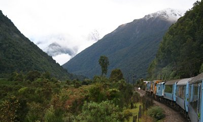 New Zealand's most scenic train ride...