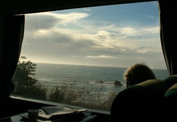 A typical view from a Coastal Pacific window!