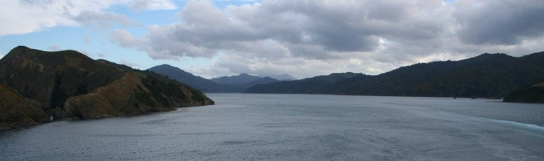 Charlotte Sound from InterIslander ferry