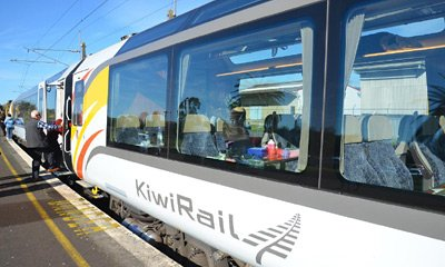 New carriages as used on the TranzAlpine train