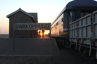 Starline train at Swakopmund