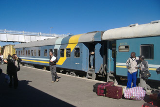 Starline train at Windhoek