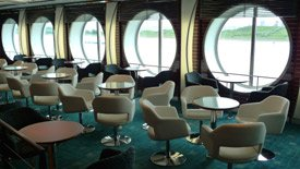 The Bar on baord the ferry Stena Hollandica