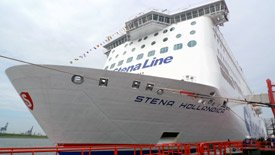 Travel by Stena Line ferry from Harwich to Hook of Holland for Amsterdam
