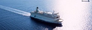 "DFDS Seaways ferry ""Queen of Scandinavia""  Photo courtesy of DFDS."