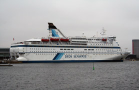 DFDS overnight ferry from Copenhagen to Oslo