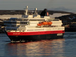 A Hurtigruten ferry