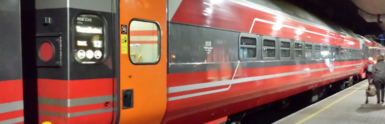 Oslo to Bergen sleeper train