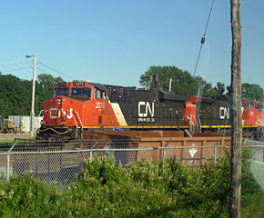 CN freight locomotives