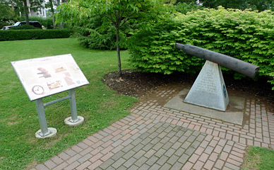 Anchor segment from Halifax explosion 1917