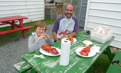Lobsters for lunch