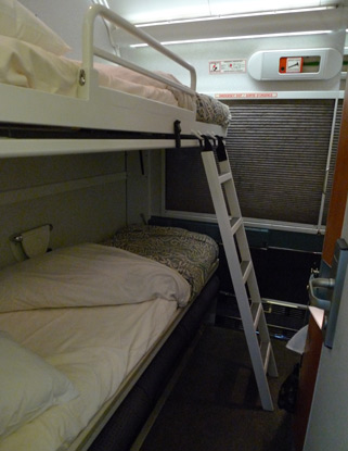 VIA Rail Renaissance 2-bed sleeper