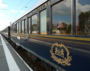 The Venice Simplon Orient Express at Calais