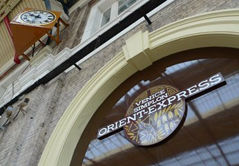 The Venice Simplon Orient Express office at London Victoria