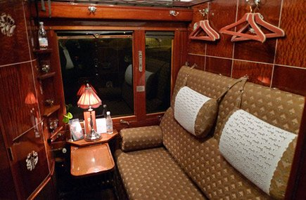 Sleeper compartment in seats mode