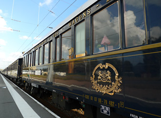 The Orient Express at Calais