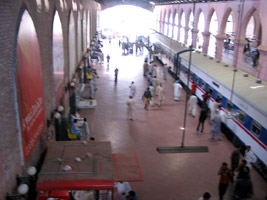 Lahore railway station, Pakistan