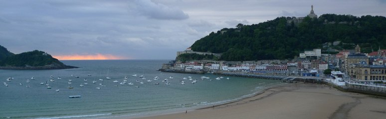 View of San Sebastian