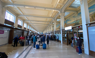Ticket hall, Paris Gare de Lyon