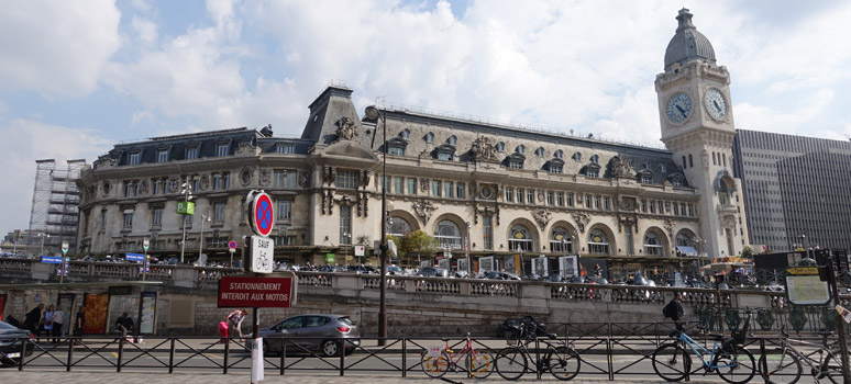 View of the Gare de Lyon