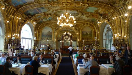 Train Bleu restaurant