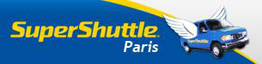 Supershuttle Paris private transfer