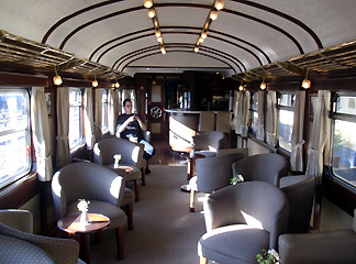 Andean Explorer lounge car