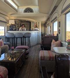 Andean Explorer bar car