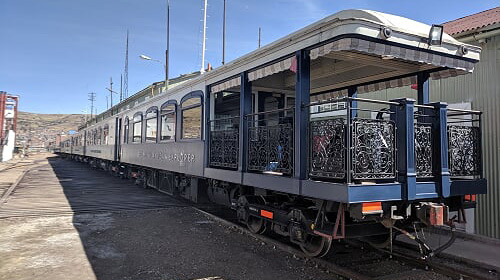 Andean Explorer observation car