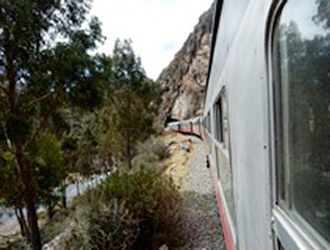 Huancayo to Huancavelica train