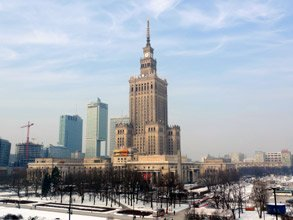 Warsaw's Palace of Culture