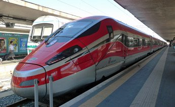 The train from Rome to Naples...