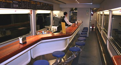 Sud Express trainhotel cafe-bar...