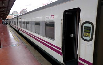 Trainhotel at Madrid