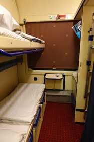Prague to Krakow sleeper train - 2-berth