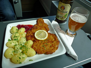 Food on a Railjet