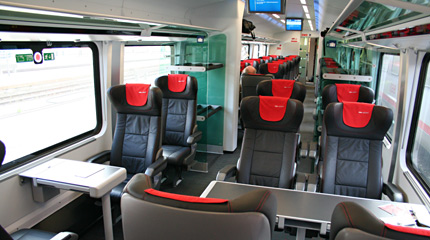 Railjet Austria S High Speed Train